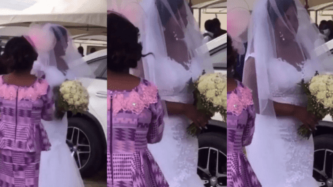 First Video from Joe Mettle And Selasi's All-White Wedding Drops