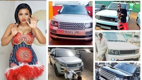 PHOTOS: Ghanaians Who Own A Range Rover With Customized Number Plates