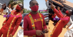 Joe Mettle's Stylish Entry To His Marriage Grounds With His Groomsmen Is Just Beautiful(Video)