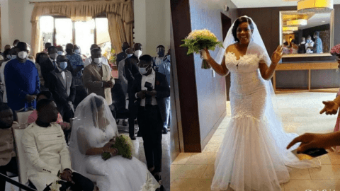 Videos And Pictures Of Joe Mettle's White Wedding Pop Up (WATCH)