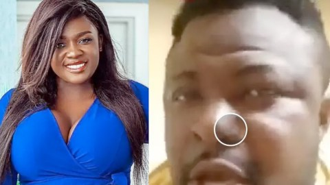 """I Am The Man"" – Ghanaians React After This Man Claimed Ownership Of Tracy Boakye's Daughter (Video)"
