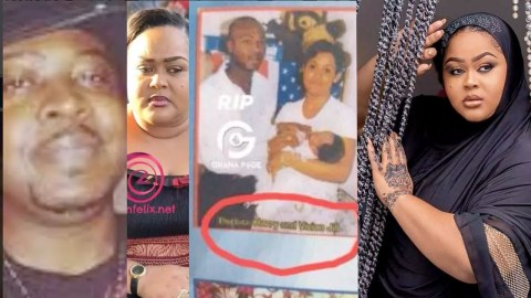 Flashback: Did You Know Vivian Jill's Late First Husband, Mr. Harry? See His Photos (Photos)