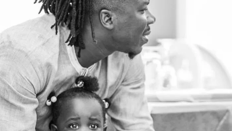 Stonebwoy Shows Off Adorable Family As He Dances with Daughter to Wife's Happy Laughter – Video
