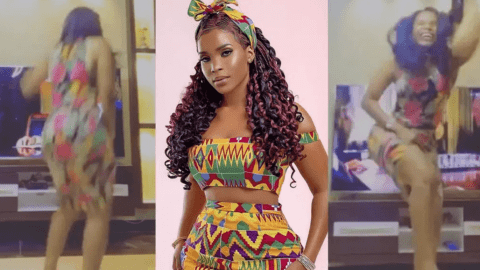 Benedicta Gaffa Proves Her A$$ Is Not Fake As She Bounces It Off To Keche's No Dulling (Video)