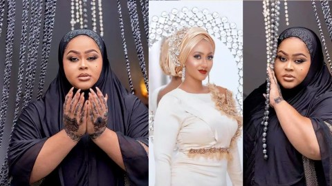 Vivian Jill Vs Hajia 4Real Who Shows More Swag In The Islamic Dress? (Photos)