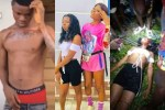 Sad news as fraud boy and two Slay Queens die in a fatal accident while returning from a night club (video)
