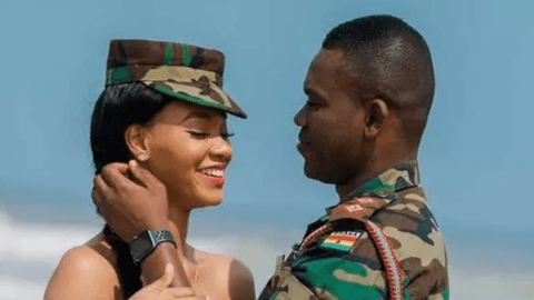 5 Pre-wedding Photos of Ghanaian Soldiers That Will Make You Love Them More