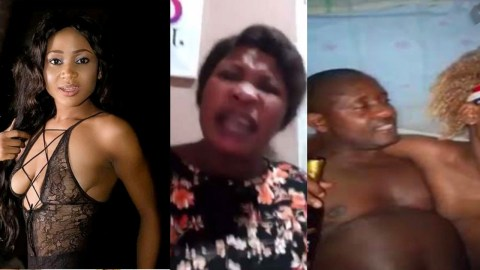 """Angry Woman Threatens To Release A Video Of A Man Chopping Akuapem Poloo's """"Trumu & Tw3"""""""