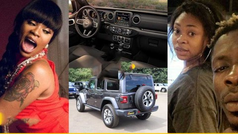 VIDEO: Shatta Michy's boyfriend surprised her with $35k Jeep Wrangler ahead of birthday