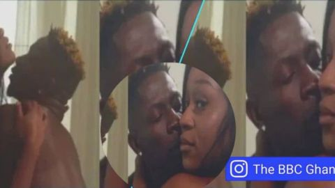 Hot video of Shatta Wale sÜck!ng the hell out of Efia Odo in bath tub drops – WATCH