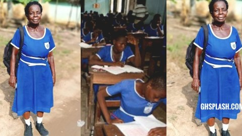 Meet the 60-year-old JHS woman writing the 2020 BECE