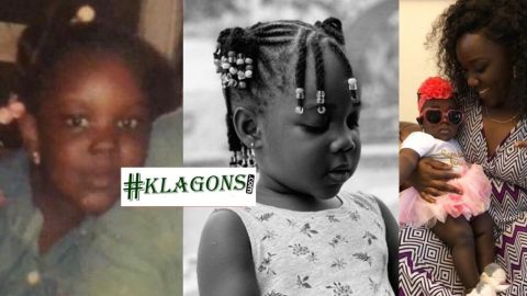 Stonebwoy's Wife, Louisa Ansong Shares A Lookalike Throwback Photo Of Herself And Her Daughter