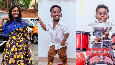 Actress Martha Ankomah For The First Time Shows Photos Of Her 2-Year-Old Son