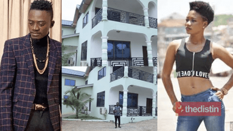 """I'm richer than Lilwin but he doesn't respect"" – Rich Maame Esi Forson Says As She Flaunts Her Plush Mansion (Video)"