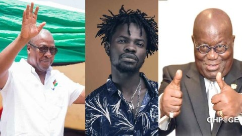 Fameye Reveals Political Party He Will Vote For In Coming Elections