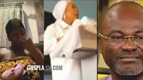 Prophetess reveals date Tracey Boakye would die if she doesn't apologize to Ken Agyapong (Video)