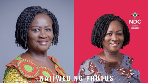 Jane Naana Opoku Agyemang Allegedly Quits As Mahama's Vice President After Election Loss, Video Drops