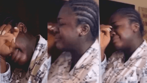 Video: Tracey Boakye weeps; Is it 2020 Election related ?