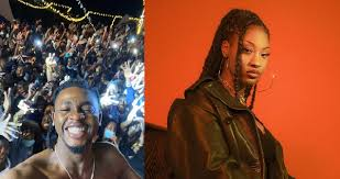 Just In!! Nigerian Artistes Omah Lay And Ms Tems Arrested In Uganda.