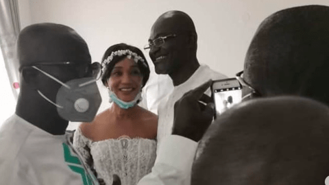 Latest-unseen exclusive photos from Kennedy Agyapong's third marriage ceremony pops online