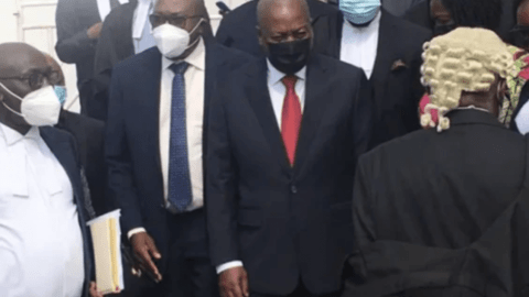 Mahama Lawyers Makes Same Mistake In Its Amended Petition To The Supreme Court