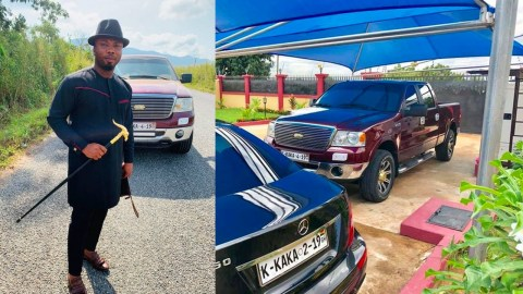 Poor beggar becomes the youngest Ghanaian billionaire, swimming in abnormal wealth and charity: PICS