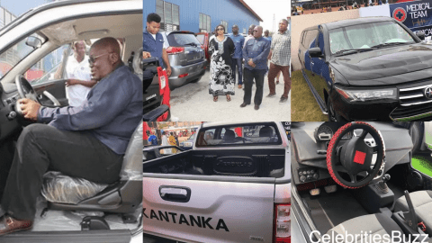 Kantanka outdoors bulletproof car for Ghana's President