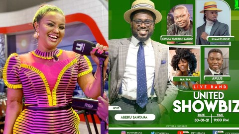 Abeiku Santana Replacing Nana Ama McBrown As Host Of United Showbiz Causes Stir