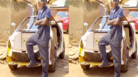 Ghanaian JHS Graduate who built his own car gets $15,000 support after going viral