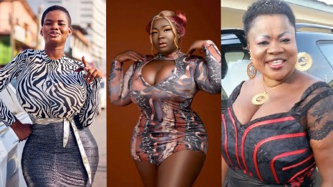 Meet 5 Ghanaian Female Celebrities Who Are Blessed With Huge B0obs