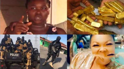 Lady Accuses Nana Agradaa Of Stealing Her $7M Gold (Video)