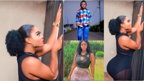 Yaw Dabo's Alleged Girlfriend Displays Her Huge Backside To Cause Confusion On The Internet