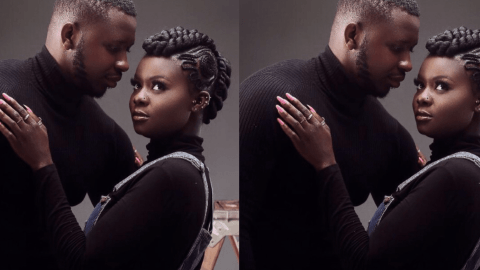 Fatima Of Date Rush Fame In A 'Save The Date' Pose With A Mysterious Guy And Adds A Love Message