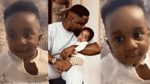 Sarkodie Son all grown up now, check out this photo of him