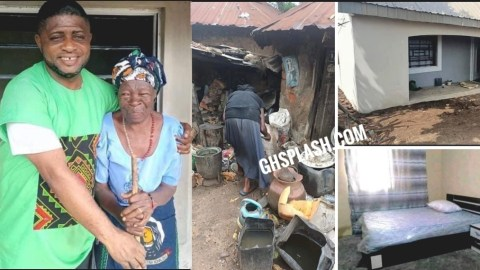 Pastor Builds House For Widow Who Donated Eggs To Sympathize With Him When Armed Robbers Attacked Him