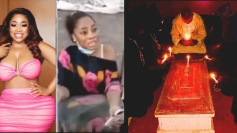 Occult Blood Moesha Saw On Her Nigerian Sugar Daddy Caused Her Madness – Brother Reveals Deep Secret
