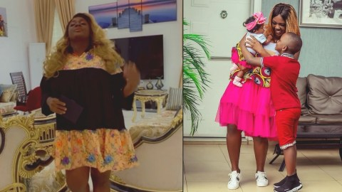 Tracey Boakye is to be married by the father of her daughter (Video)