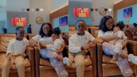 Tracey Boakye And Her Family Jet Off On A Birthday Vacation For Her Son (video)
