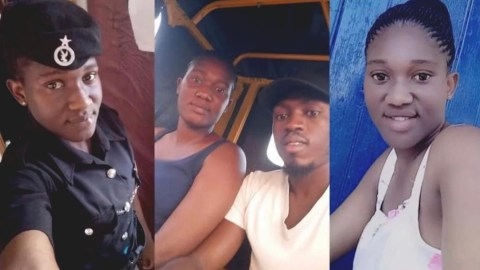 VIDEO: Boyfriend Attempts To Take His Own Life After Stabbing Damongo Policewoman