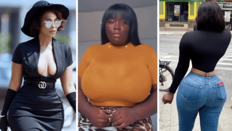 Ghanaian Celebrities Who Have Been Accused Of Surgery To Get Curvy Shapes