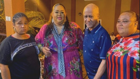 VIDEO: Vivian Jill Shows Off Father, Lookalike Sisters For The 1st Time At Her Private Party