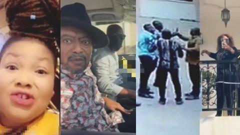 VIDEO: Fear oo, why didn't you come alone – Agradaa finishes Owusu Bempah for storming her house with 12 Kɨller Boys