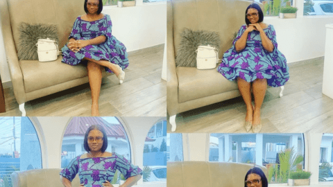 Abena Korkor Display New Photos In Africa Prints And People Can't Stop Commenting: See Photos