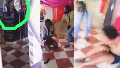 Area Guys Sectrely Video Pastor Caught Giving Married Woman H0t Dawgy In Church (VIDEO)