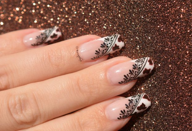 NAIL ART COW GIRL 9