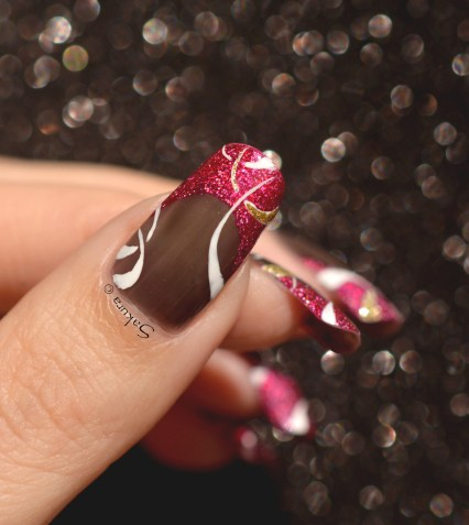 NAIL ART FRENCH CERCLES 3