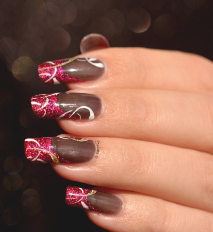 NAIL ART FRENCH CERCLES 5