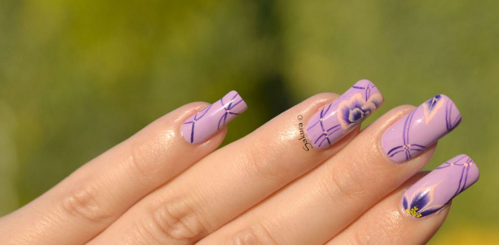 NAIL ART ONE STROKE LIGNES 3