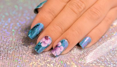 Nail Art One Stroke facile