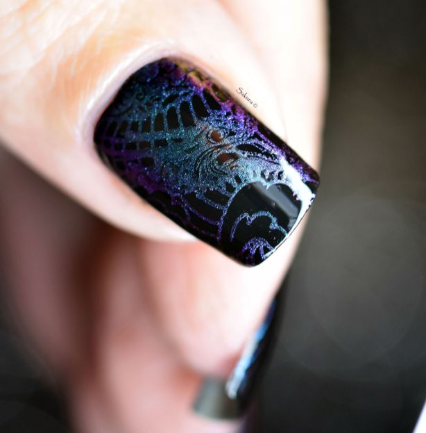 NAIL ART STAMPING YOURS ANNALEE 11